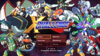 Nuevos detalles del X Challenge de Mega Man X Legacy Collection 1 & 2