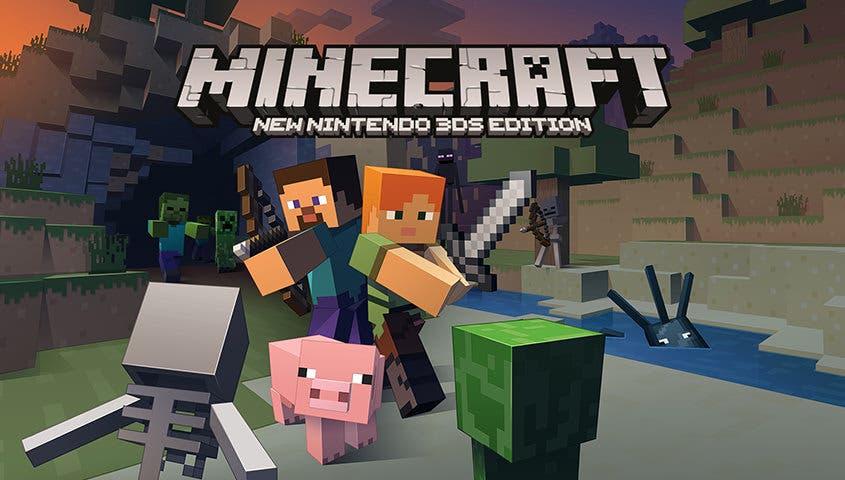 Minecraft: New Nintendo 3DS Edition recibirá el 'Super Mario Mash-Up Pack', una mejora de rendimiento y más