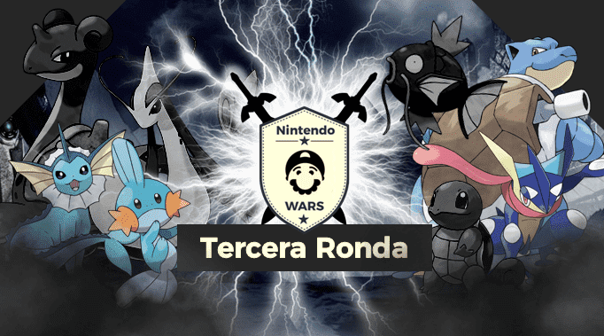 Tercera Ronda de Nintendo Wars: Pokémon de tipo Agua: ¡Vota ya por los 4 clasificados!