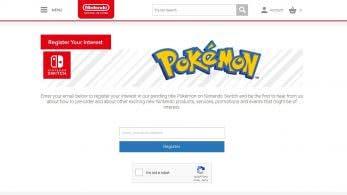 """Nintendo UK Store abre una página para que """"registremos nuestro interés"""" en Pokémon para Switch"""
