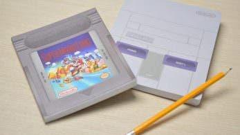 Nintendo NY pone a la venta estos geniales cuadernos retro inspirados en Super Mario Land y SNES