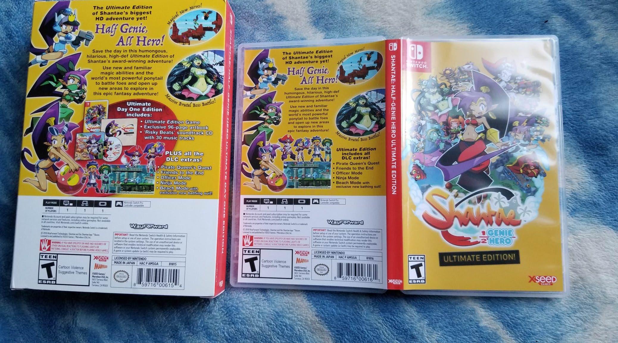 Así es como luce la versión americana de Shantae Half-Genie Hero – Ultimate Edition