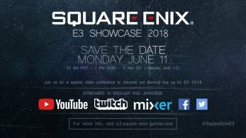 Anunciado el Square Enix E3 Showcase 2018