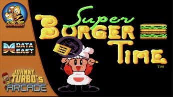 [Act.] Super Burger Time de Data East llega el 17 de mayo a la eShop de Switch