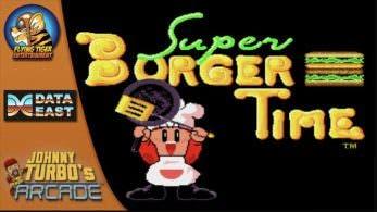 [Act.] Super Burger Time de Data East llega el 17 de mayo a la eShop de Switch