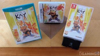 Unboxing de Legend of Kay Anniversary para Nintendo Switch