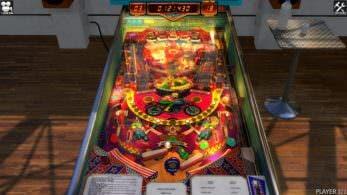 Zaccaria Pinball llegará a la eShop de Switch el 23 de julio