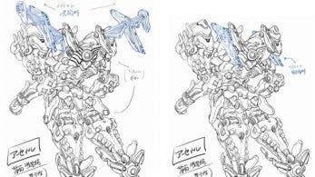 Los creadores de Daemon X Machina presentan sus bocetos de diseño