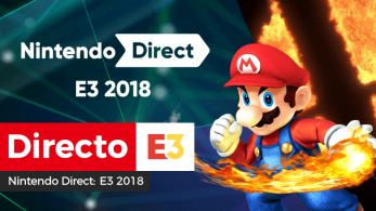 [Act.] Sigue aquí el Nintendo Direct: E3 2018