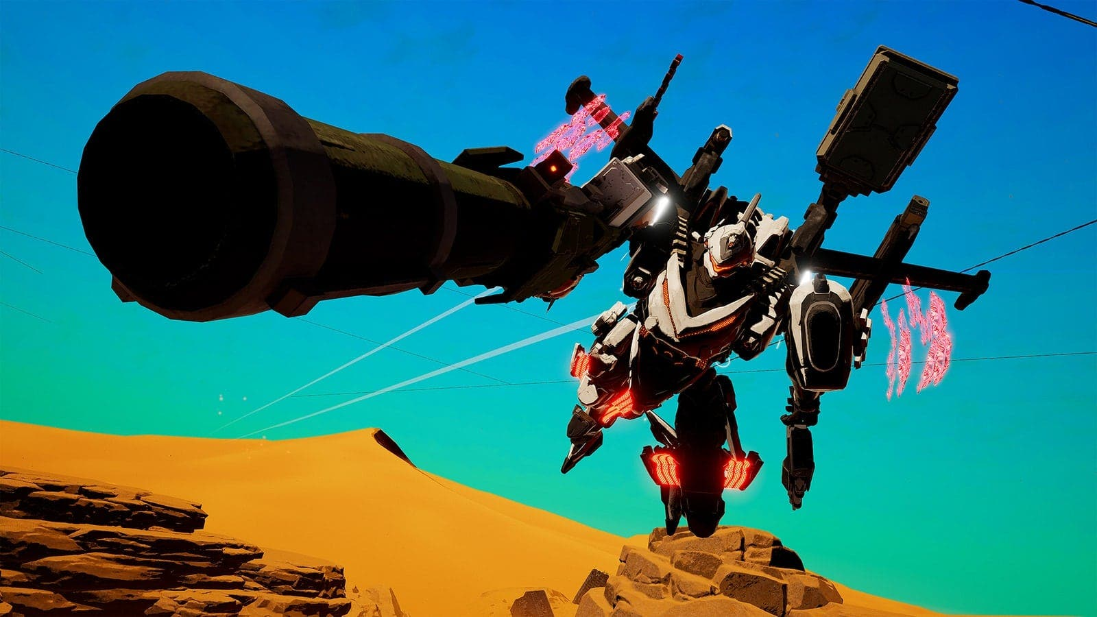 Nintendo no ha decidido aún si Daemon X Machina incluirá multijugador online