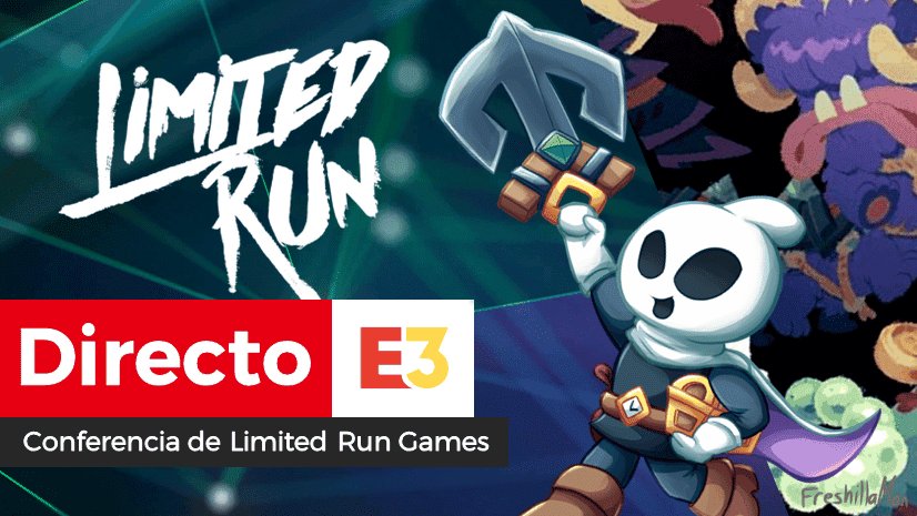 [Act.] Sigue aquí el directo de Limited Run Games en el E3 2019