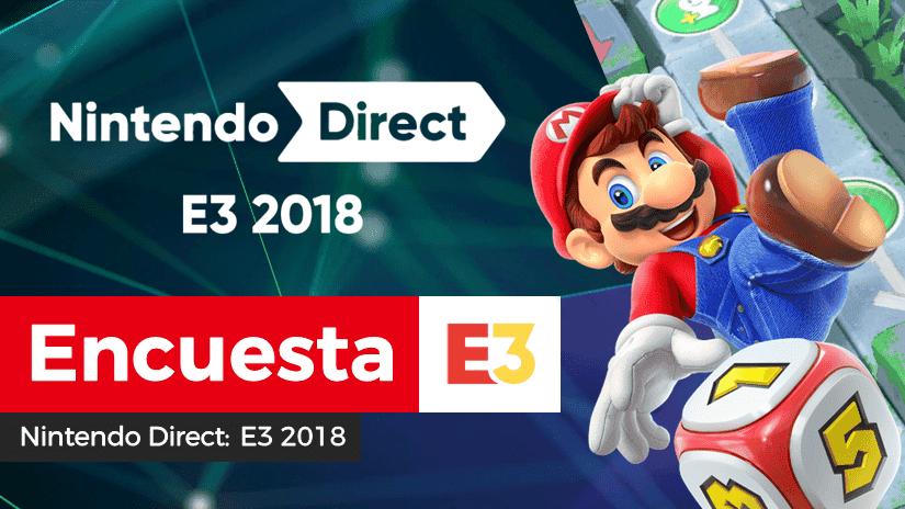 [Encuesta] ¿Qué te ha parecido el Nintendo Direct: E3 2018?