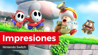 [Impresiones] Captain Toad: Treasure Tracker