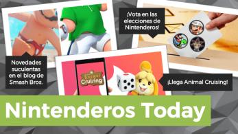 Nintenderos Today #31 Primarias para ser presidente de Nintenderos, salseo en Monolith Soft, actualización del blog de Super Smash Bros. Ultimate y más