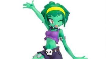 Primer vistazo a esta genial figura de Rottytops de Shantae