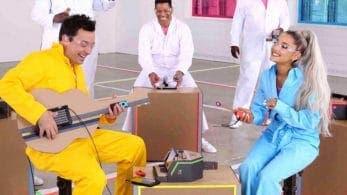 Así se creó el vídeo de Ariana Grande cantando con instrumentos de Nintendo Labo