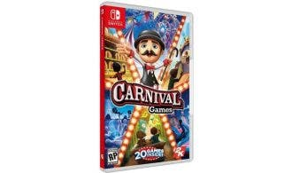 2K anuncia Carnival Games para Nintendo Switch, disponible el 6 de noviembre