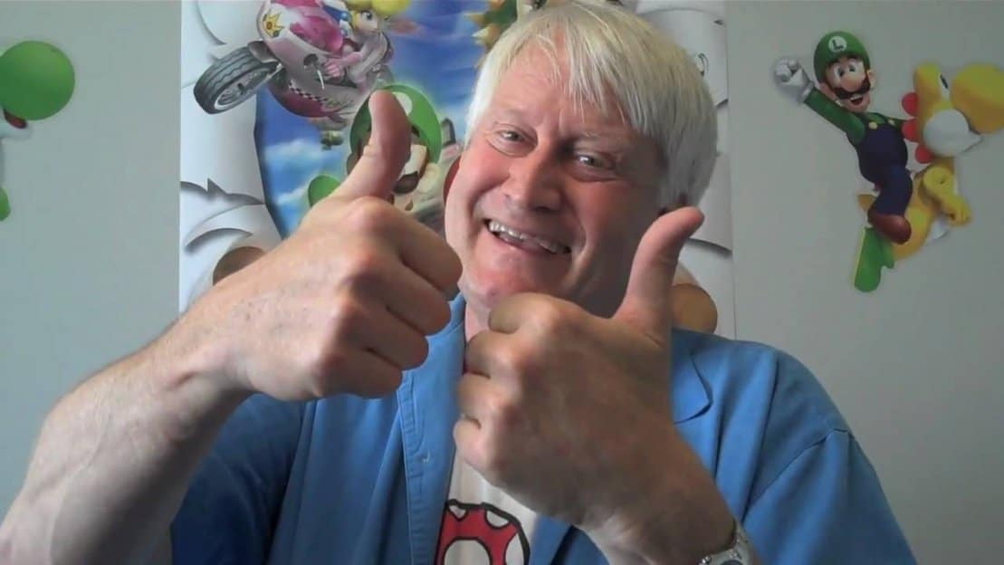 Charles Martinet corfirma que dobló a Mario para la máquina de pinball de Super Mario Bros. en 1992