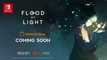 Flood of Light confirma su estreno en Nintendo Switch