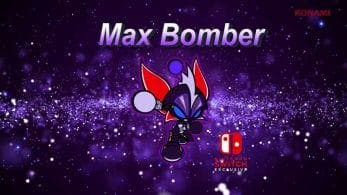 Super Bomberman R para Nintendo Switch recibirá a Max como personaje exclusivo
