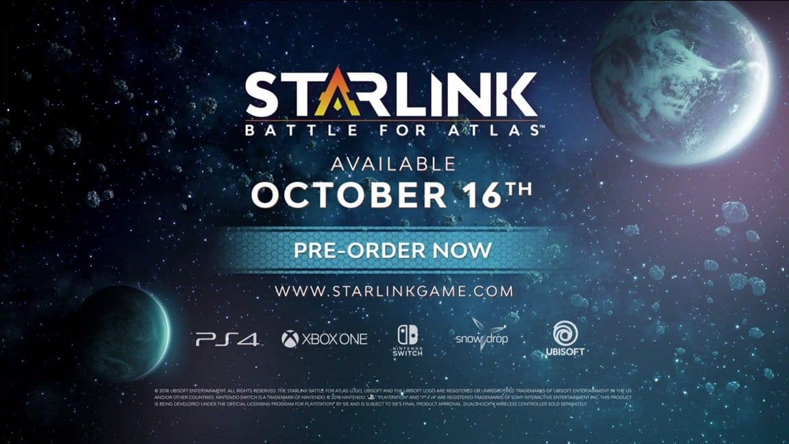 [Act.] Starlink: Battle for Atlas llegará a Nintendo Switch el 16 de octubre con una colaboración exclusiva con Star Fox y con un Starter Pack
