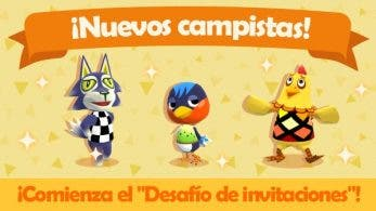 Lupo, Aria y Norberto llegan a Animal Crossing: Pocket Camp