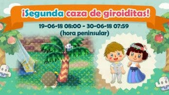 Da comienzo la segunda caza de giroiditas en Animal Crossing: Pocket Camp