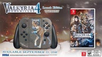 [Act.] Valkyria Chronicles 4 se estrena en Europa y América el 25 de septiembre con esta edición de lanzamiento