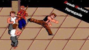 Renegade de Arcade Archives llega esta semana a Nintendo Switch