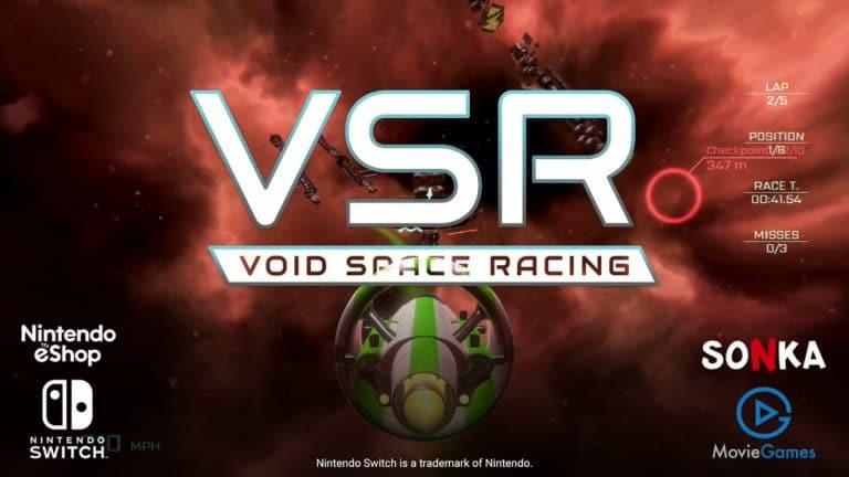 [Act.] VSR: Void Space Racing llegará renovado a Nintendo Switch el próximo mes