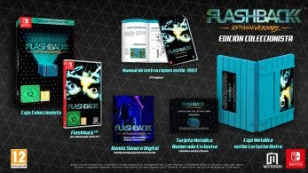 Unboxing de Flashback 25th Anniversary Collector's Edition para Nintendo Switch