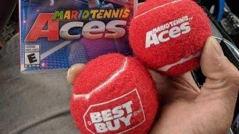 Best Buy Canadá está regalando estas pelotas de tenis por la compra de Mario Tennis Aces