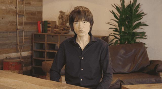 Sakurai siente que está envejeciendo, su vista ha empeorado y se pregunta cuántos juegos le quedan por hacer