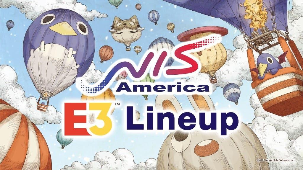 Estos son los juegos ya anunciados que NIS America llevará al E3 para Nintendo Switch