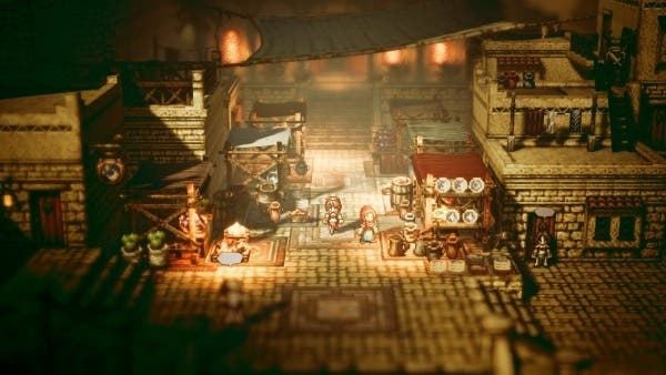 Octopath Traveler: Precarga ya disponible y tamaño de la descarga