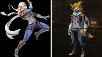 El nuevo diseño de Sheik en Super Smash Bros. Ultimate proviene de The Legend of Zelda: Breath of the Wild