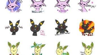 Nuevos stickers de Eevee han sido añadidos a la aplicación LINE