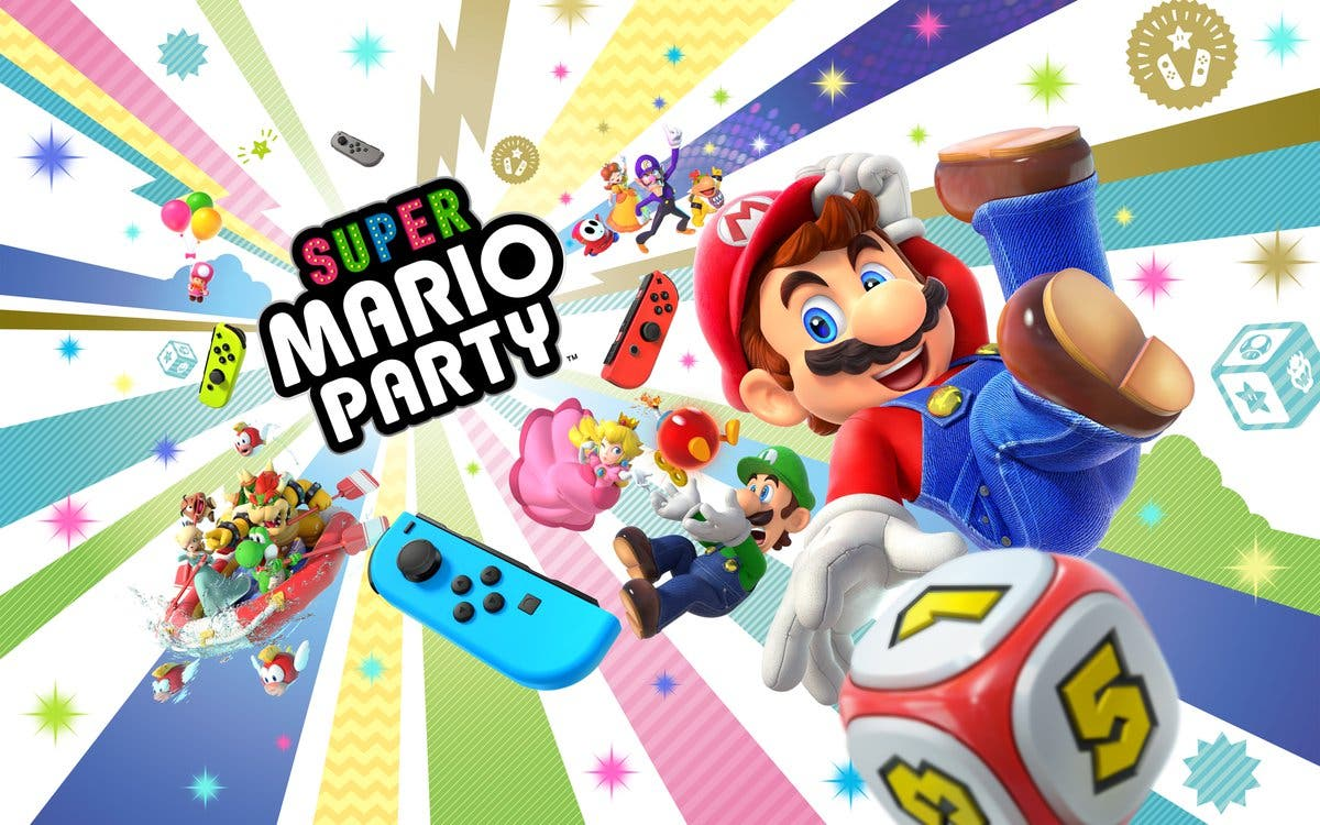 Anunciado Super Mario Party para Nintendo Switch disponible el 5 de octubre