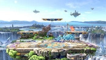 El blog oficial de Super Smash Bros. Ultimate nos muestra a Mario, el escenario Campo de batalla y el objeto Agujero negro