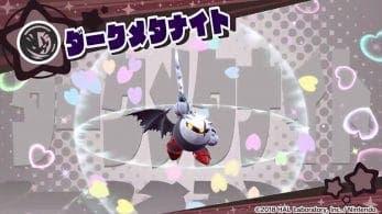 Nuevo tráiler de Meta Knight Oscuro para Kirby Star Allies