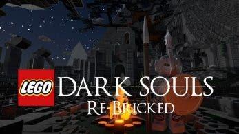 Este usuario rinde homenaje a Dark Souls en LEGO Worlds