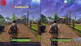Digital Foundry somete a test Fortnite para Switch y lo compara en vídeo con Xbox One X