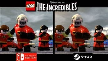 Comparativa en vídeo de LEGO Los Increíbles: Nintendo Switch vs. PC