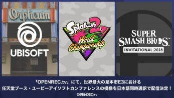 Openrec retransmitirá Splatoon 2 World Championship y Super Smash Bros. Invitational en Streaming para Japón