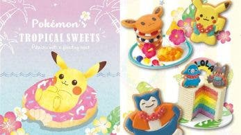 Se revela la colección de merchandising Pokemon's Tropical Sweets para los Pokémon Center de Japón