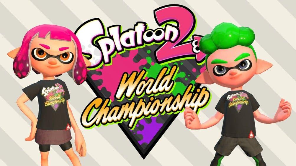 Nintendo ofrecerá esta camiseta en digital en Splatoon 2 y en físico en el Campeonato Mundial de Splatoon 2