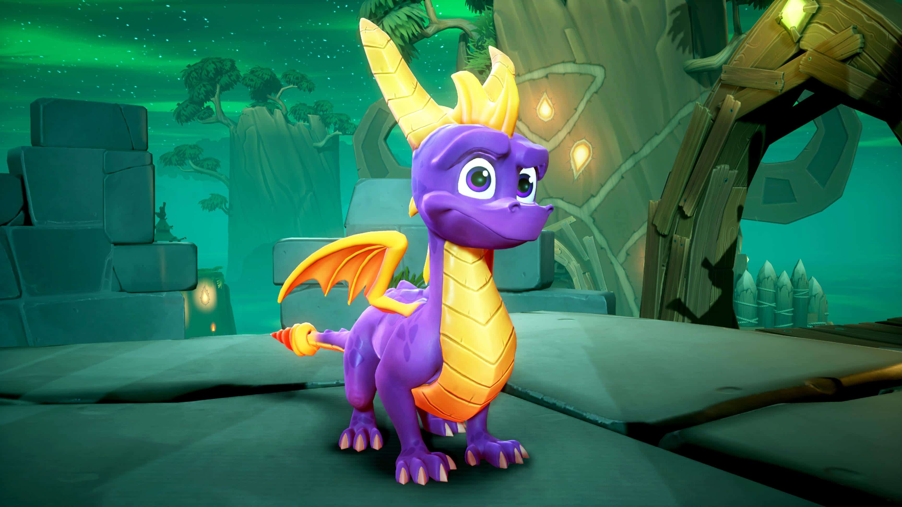 Spyro Reignited Trilogy ocupa casi 70 GB en disco