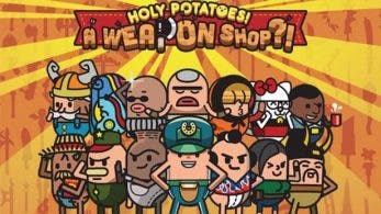 Tráiler de Holy Potatoes! A Weapon Shop?! para Switch