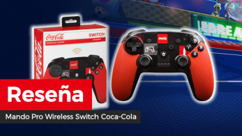 [Reseña] Mando Pro Wireless Switch Coca-Cola