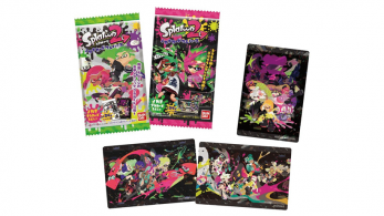 Bandai Candy lanza cartas coleccionables de Splatoon 2
